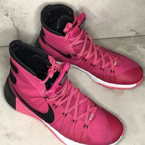 Nike Hyperdunk 2015 Pink Breast Cancer
